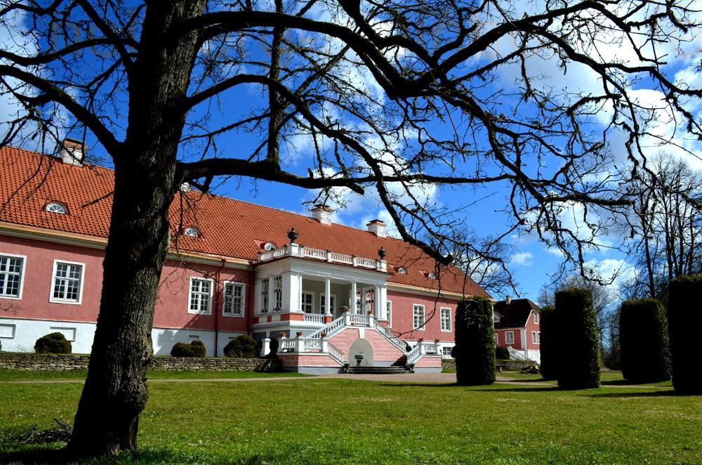 Herrenhaus von Sagadi in Estland