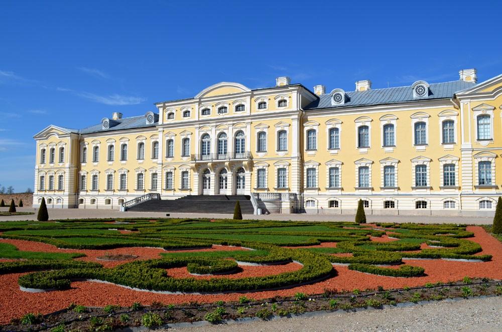 Schloss Rundale,eine der größten Sehenswürdigkeiten Lettlands
