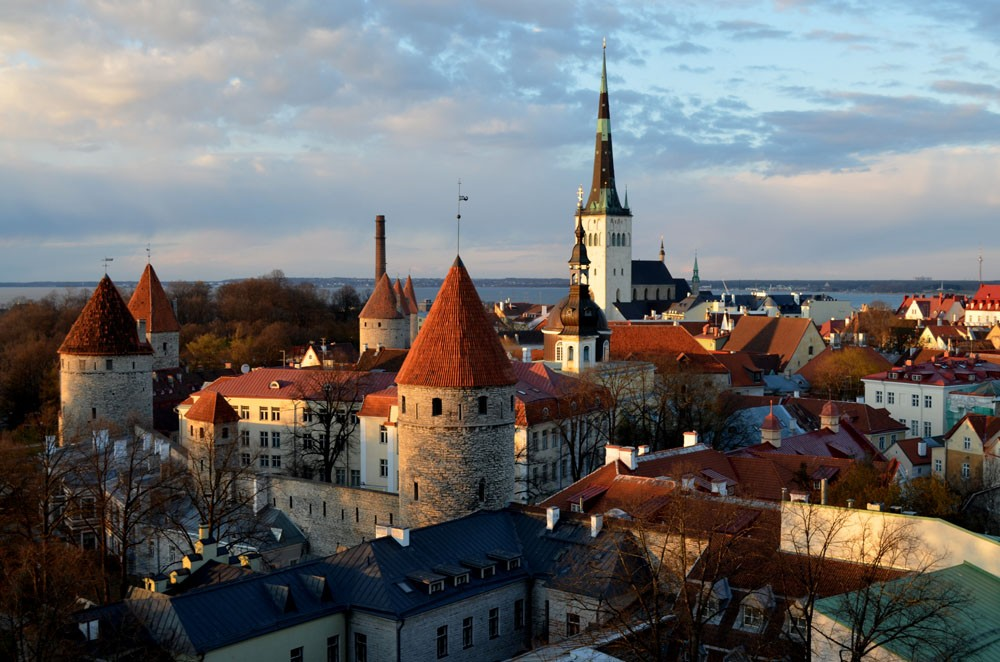Tallinn, Hauptstadt Estlands